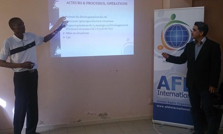 Droits de l'Homme et Citoyenneté : des femmes de Ross Béthio formées par l'AFD International et l'ASDEV.