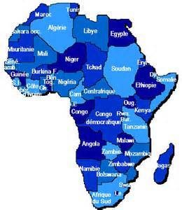 Commentaire sur le continent Africain