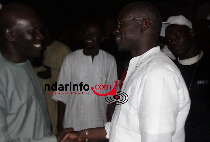 BALACOSS : Belle poignée de main entre Abba Mbaye et Cheikh Gaye !