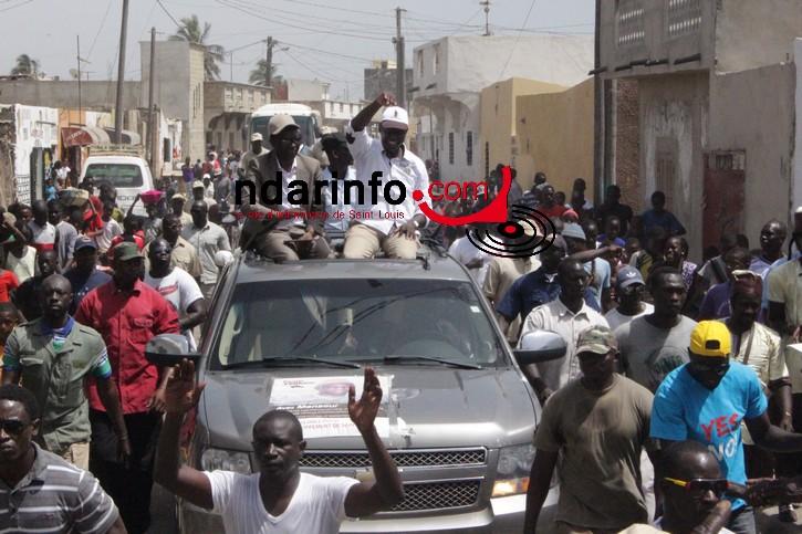 Saint-Louis : Youssou NDOUR  pimente la caravane de BYY : « Mansour, AFFAIRE BI YAW  LA ! »