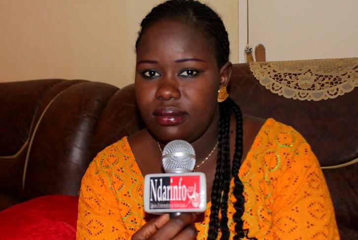 Mme THIAW NAFI DIALLO, la brave présidente de l'association des personnes drépanocytaires de Saint-Louis.