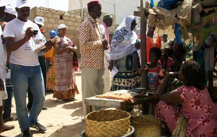 COMMUNIQUE: la Coalition Ndar Guedj va mettre en place des 'Loumas' de quartier selon le concept « un jour, un quartier ».