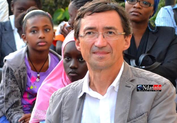 Thierry Dessolas, actuel Directeur de l'Institut Français
