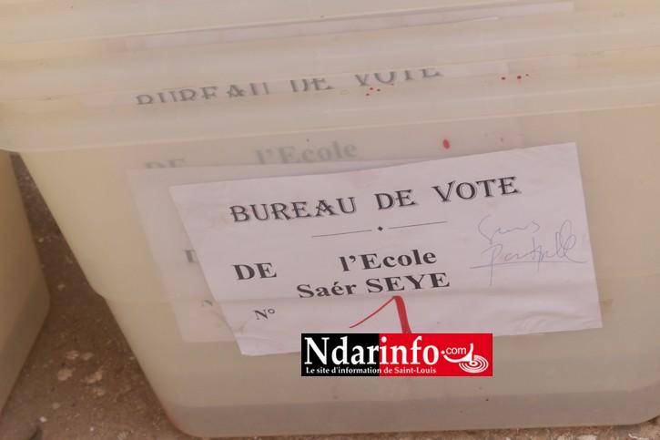 SAINT-LOUIS  - Déploiement du dispositif électoral : les instruments du vote sont prêts (photos)
