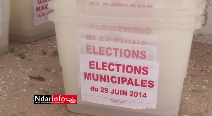 ÉLECTIONS MUNICIPALES A SAINT-LOUIS : 104.244 inscrits, 29 Centres et 148 bureaux.  Le vote a démarré.