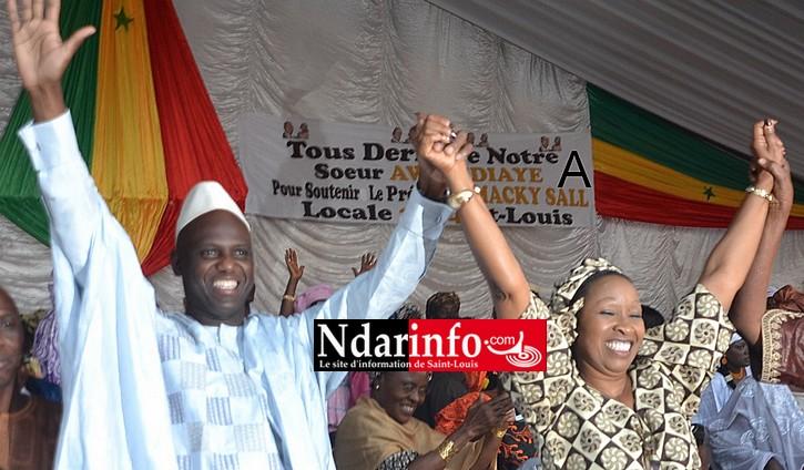Awa NDIAYE et Mansour FAYE votent à Macodou NDIAYE.