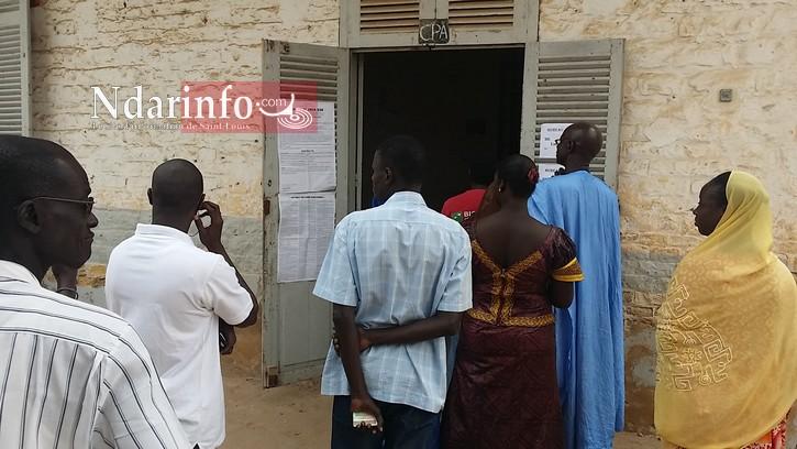 SAINT-LOUIS : 6928 inscrits aux urnes à Gandiol.