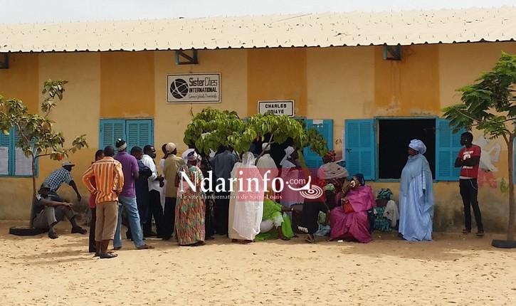 ELECTIONS : 6 bureaux fermés à Rawane NGOM, le plus grand centre de Saint-Louis.