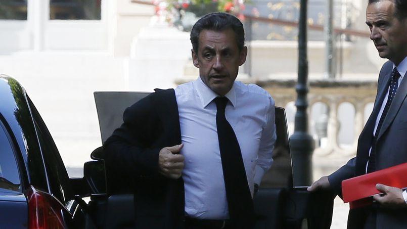 Nicolas Sarkozy en garde à vue