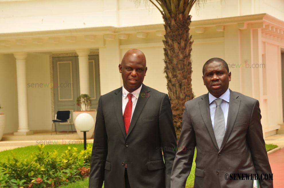 (Photos) Les ministres de Saint-Louis au premier conseil des ministres du Gouvernement DIONNE