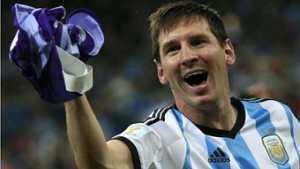 Messi élu meilleur joueur du Mondial 2014