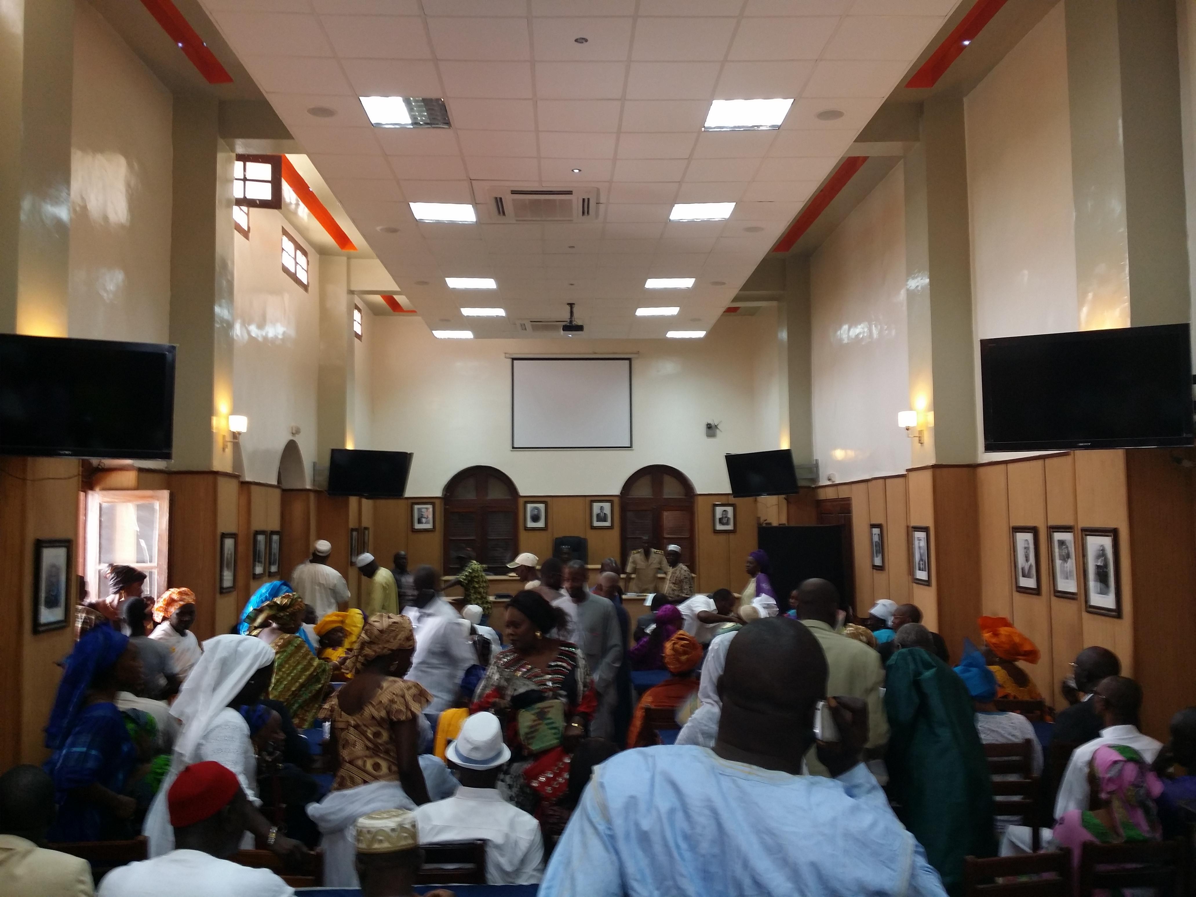 [PHOTOS] La cérémonie d'installation du nouveau Conseil municipal de Saint-Louis.