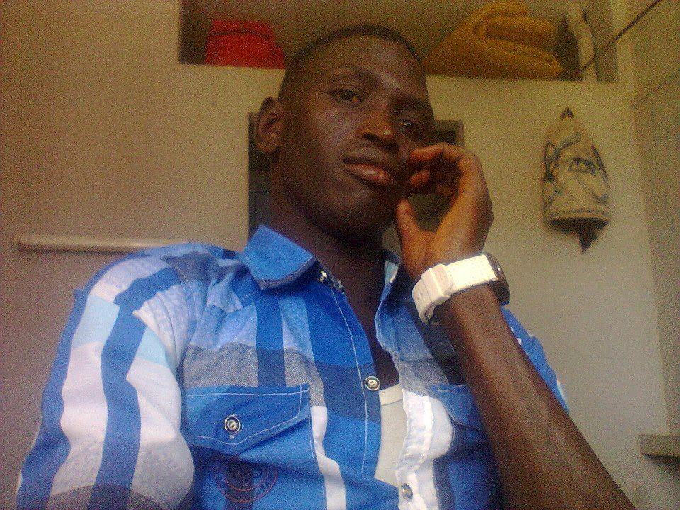 Voici l'étudiant saint louisien Saër Boye, mortellement assommé devant un restaurant du Campus universitaire