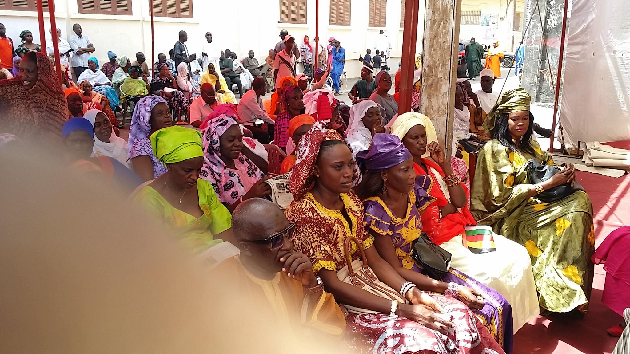 PHOTOS: la cérémonie de passation de service entre Mansour Faye et Bamba Dièye.