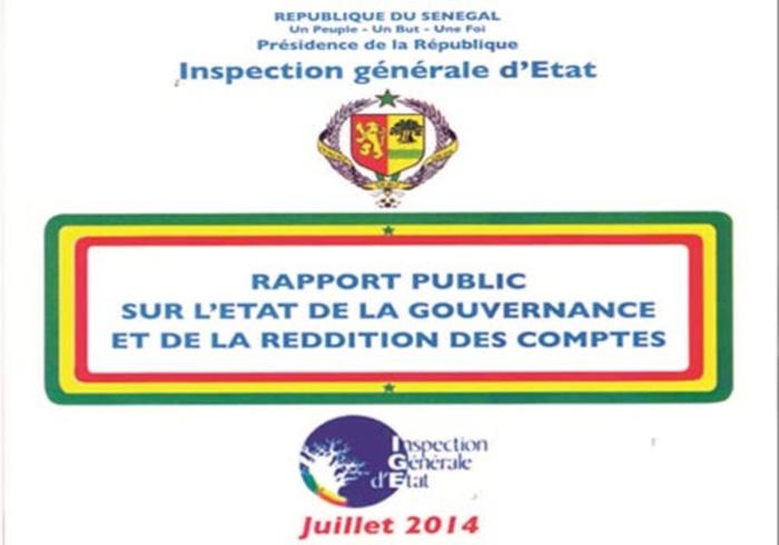 Les détails du rapport de l'IGE : La fête des pillards
