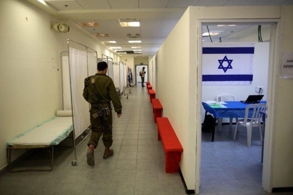 Un soldat israélien pourrait avoir été enlevé vendredi matin dans le sud de la bande de Gaza, a rapporté l'armée israélienne. (1er août 2014) Image: AFP