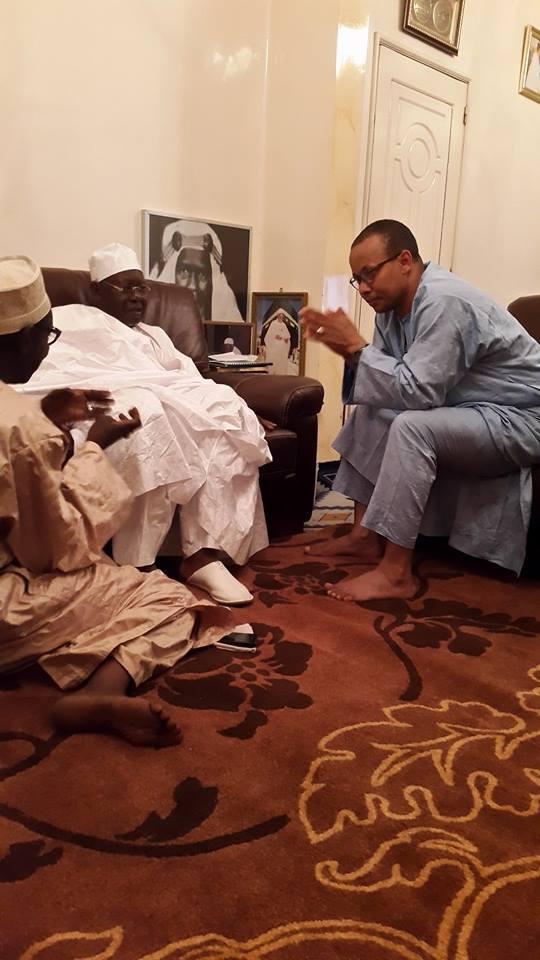 [4Photos] Sérigne Abdoul Aziz Sy Junior pardonne Souleymane Jules Diop