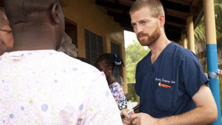© AFP, Joni Byker | Le médecin Kent Brantly au Liberia, 2014