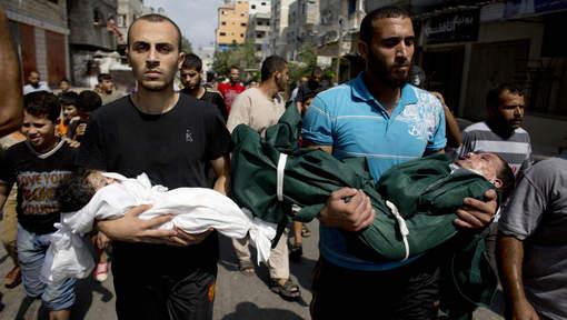 """""""A la mémoire des 373 enfants tués à Gaza"""""""