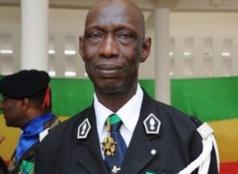 Le Colonel Ndaw devant le Haut commandant de la gendarmerie aujourd'hui