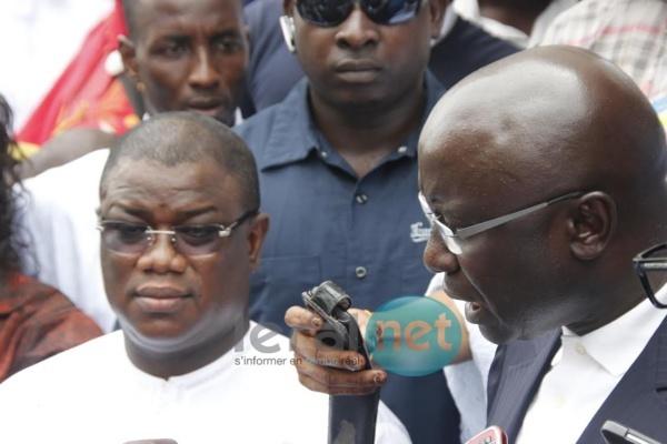 """Idrissa Seck chez Abdoulaye Baldé: """"J'invite ce régime à se ressaisir sinon..."""""""