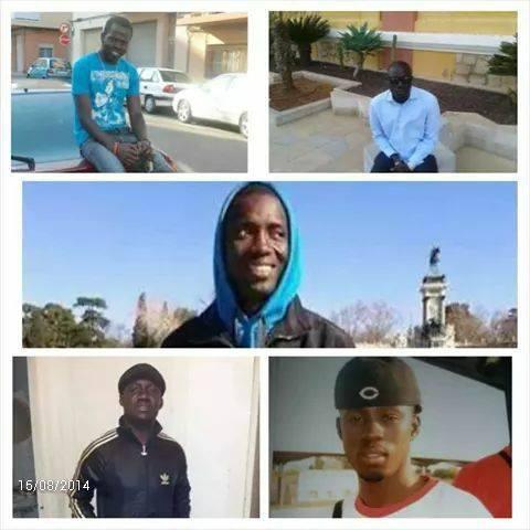 Accident  mortel de cinq  émigrés sénégalais  en Espagne : Les dépouilles arrivent enfin aujourd'hui !