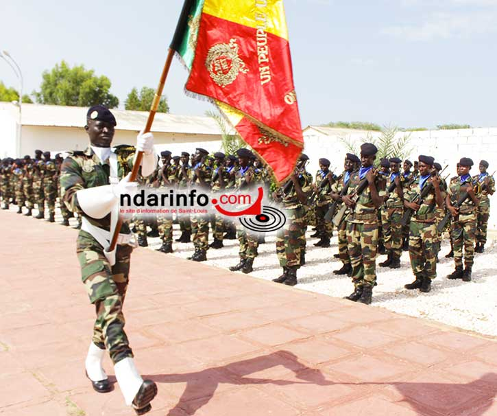 Contingent 2014/2: 1035 nouvelles recrues dont 59 filles, formées à Dakar-Bango.