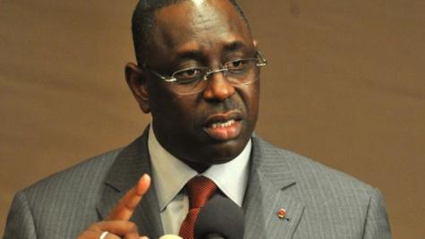 """Macky Sall aux journalistes sénégalais : """"il ya beaucoup de parasites dans votre profession """"."""