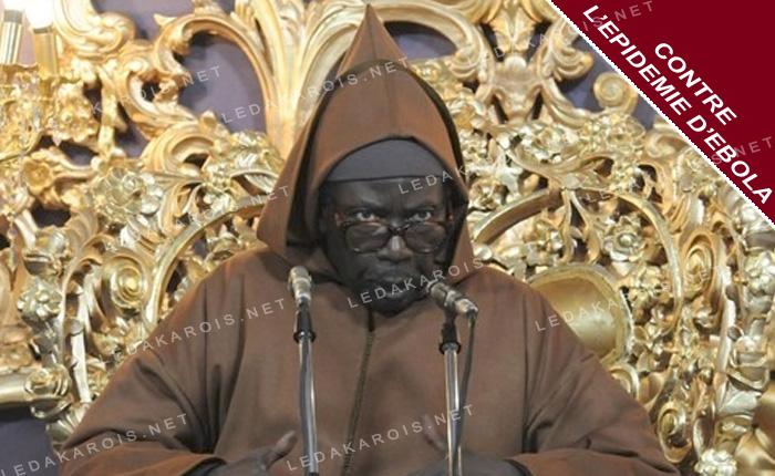 CONTRE L'EPIDEMIE D'EBOLA Serigne Cheikh Al Maktoum donne des prières