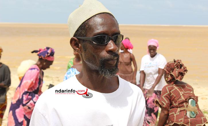 "Ahmed Sène DIAGNE, président du Gie ""Bokk Diome"""