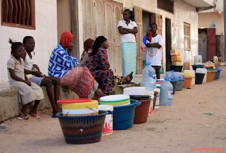 AUDIO - Pénurie d'eau: le cri de coeur d'un citoyen de Pikine. Ecoutez