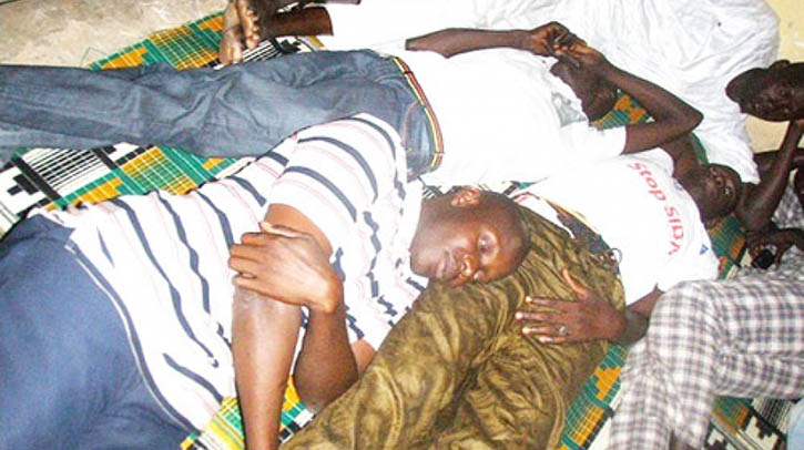 Des ex-agents de la Sias , en grève de la faim
