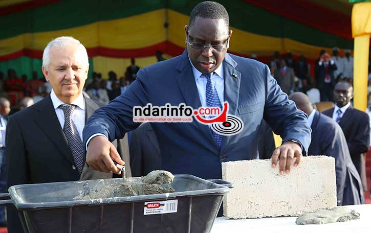 Pose première pierre de la cité de l'émergence: voici le discours du Président Macky SALL