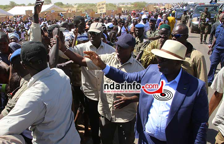 Le message du Collectif des 37 villages du NDIAEL au Président de la République.