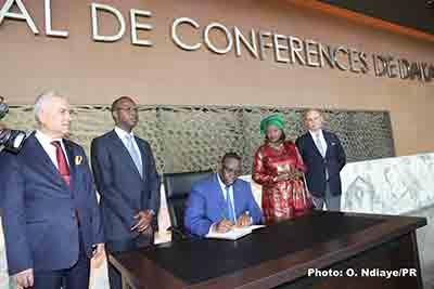 XVe Sommet de la Francophoonie: Scandale à la sélection des artistes pour la décoration du centre conférence international Diamnadio.