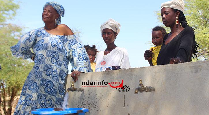 """Le """"Social"""" du Mca fait couler de l'eau potable à Peulh Dieuss."""