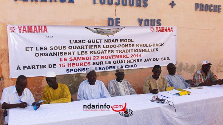 Conférence de presse de l'Asc Guet Ndar Mool à la Téranga FM