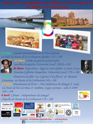 Les villes de Saint-Louis et Québec réunies autour d'une exposition à Dakar