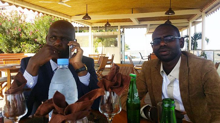 Le Maire et son directeur de Cabinet.