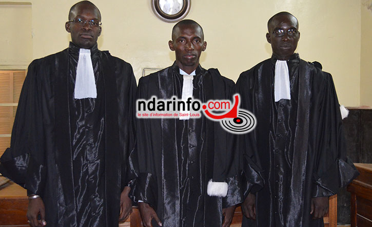 Youssouph DJITTE, Bacacar FAYE  et Ibrahima FAYE
