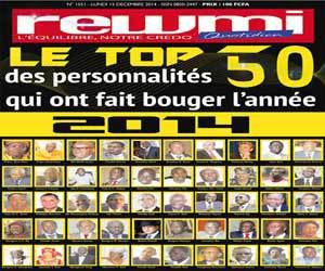 SENEGAL: Le Top 50 des personnalités qui ont fait bouger l'année