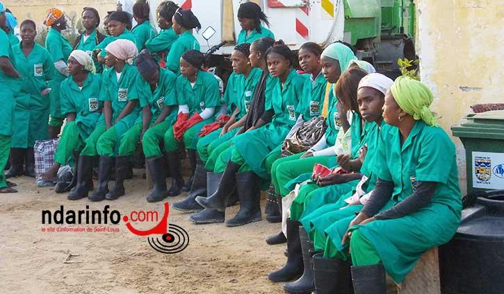 MAIRIE DE SAINT-LOUIS – NON-PAIEMENT DE SALAIRES : les travailleurs du nettoiement très en colère.