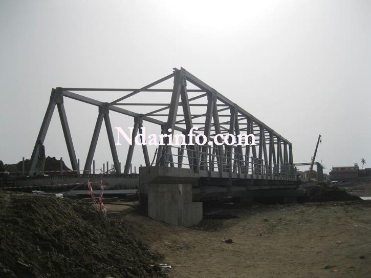"""SAINT-LOUIS: """" le pont Masseck NDIAYE ne souffre d'aucune anomalie"""", d'après la mission de contrôle."""
