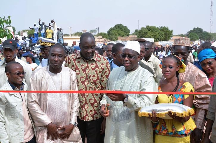 PHOTOS: Inauguration de la maison de l'outil de Mékhé par le Président Macky SALL