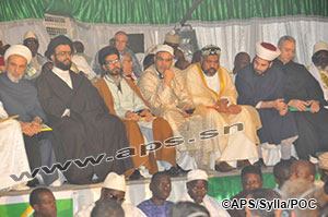 Serigne Abdoul Aziz Sy Al Amine défend le droit des Palestiniens à la terre