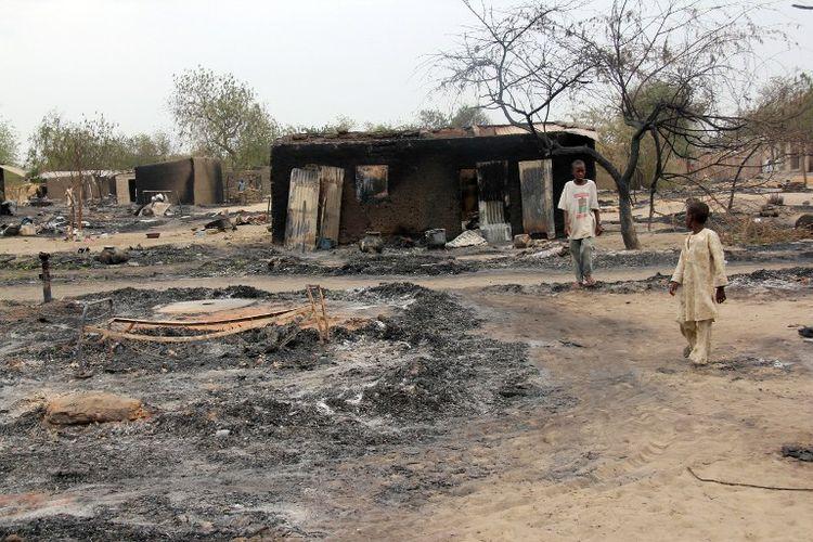 Nigeria : «Sur cinq kilomètres, je n'ai pas arrêté de marcher sur des cadavres»
