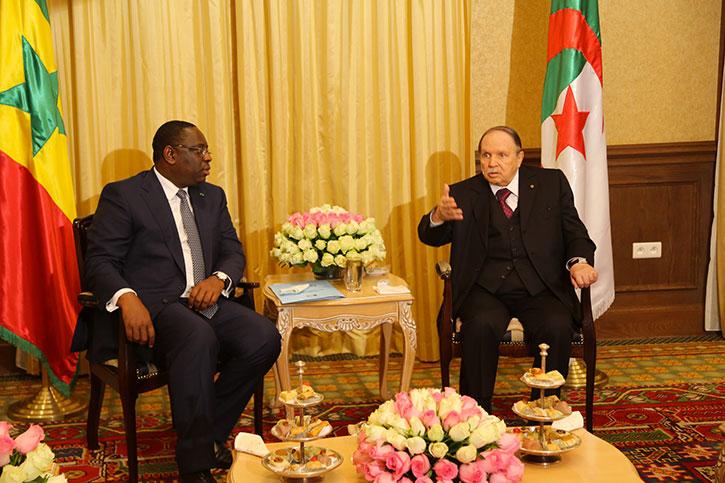 Visite d'État du Président Macky SALL en Algérie