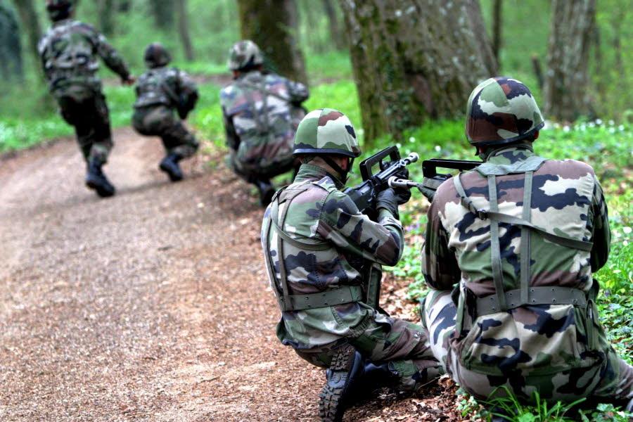 Manœuvres de l'armée française. Combien d'anciens soldats sont passés en Irak et en Syrie, après avoir terminé leur engagement ? Photo RL/Julio PELAEZ
