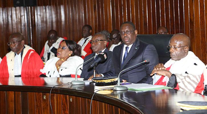 Le discours du Président de la République à la rentrée solennelle des Cours et Tribunaux.