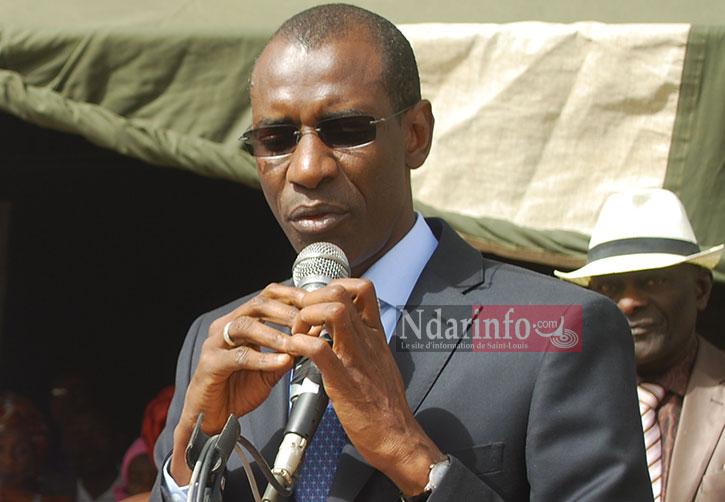 """COMMISSERIAT DE POLICE A PIKINE : """"la construction sera faite dans les plus brefs délais """", selon  le ministre Abdoulaye Daouda Diallo."""